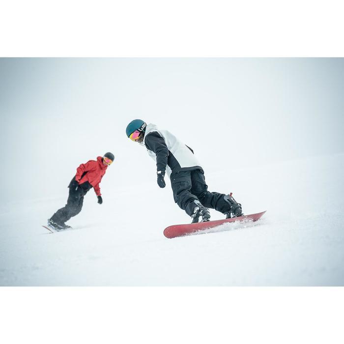 Snowboard- en ski-jas voor heren SNB JKT 100 grijs