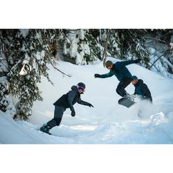 Snowboardjacke Skijacke SNB 900 Damen schwarz