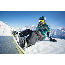 Snowboardschuhe Indy 300 (Gr.:34-38) Kinder All Mountain/Freestyle schwarz/blau