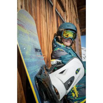 Planche de snowboard all mountain freestyle junior, Endzone 135 cm