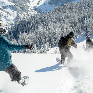 Snowboard header