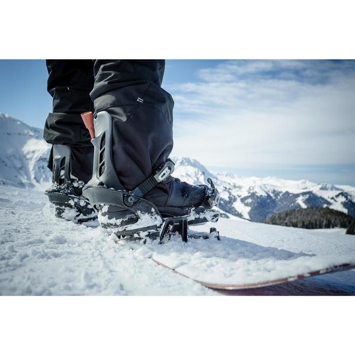 Fijaciones de snowboard, Wed'ze Snb 100 Click, All Mountain, Hombre