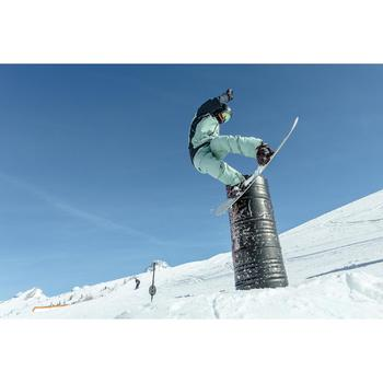 Fixations de snowboard freestyle homme et femme Endzone 500 Bordeaux