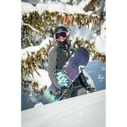 Chaqueta de Snowboard y Nieve, Wed'ze JKT 900, Impermeable, Mujer, Negro