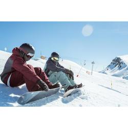 Snowboardhose SNB 500 Herren grün
