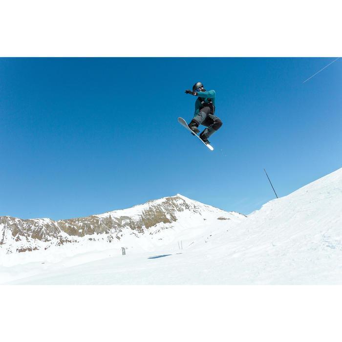 Chaqueta perlante de Snowboard y Nieve, Wed'ze Snb CJKT, Hombre, Azul petróleo