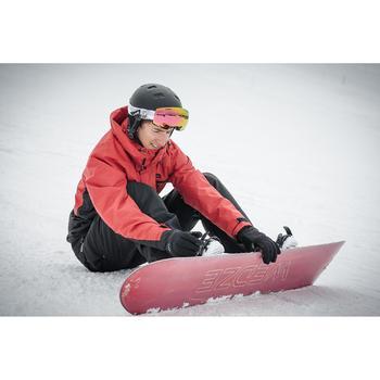 Snowboard- en skibroek voor heren SNB PA 100 zwart