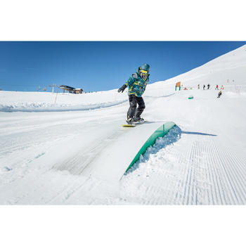 Planche de snowboard all mountain freestyle junior, Endzone 120 cm