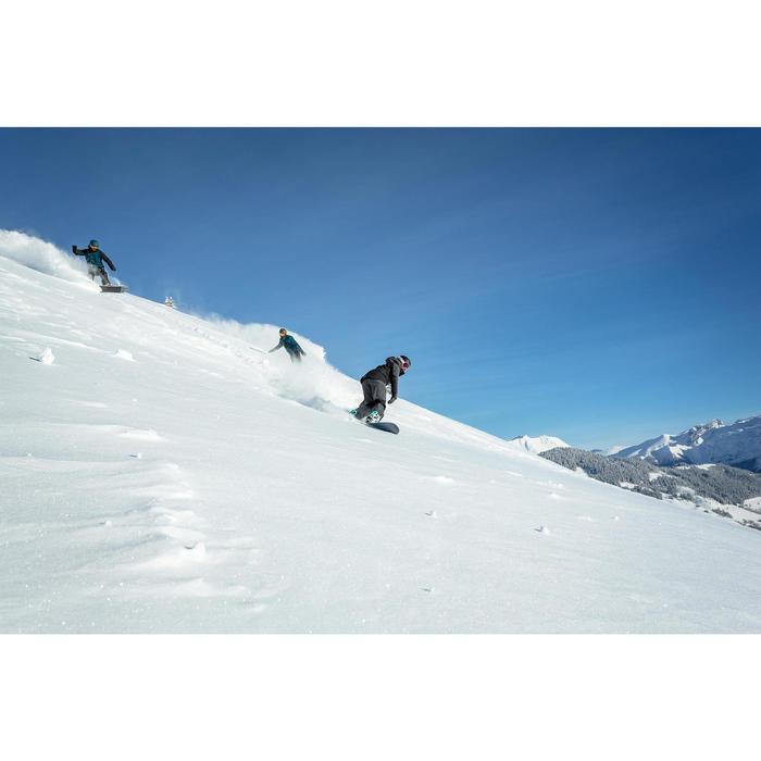 女款單/雙板滑雪吊帶褲SNB BIB 900黑色