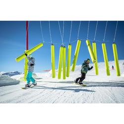 Snowboard todo terreno freestyle júnior, Endzone 120 cm amarillo, negro, azul