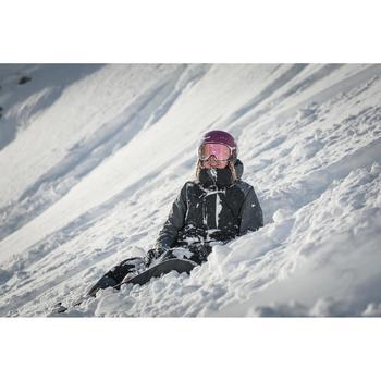 Women's snowboarding (and skiing) jacket SNB JKT 900 - Black