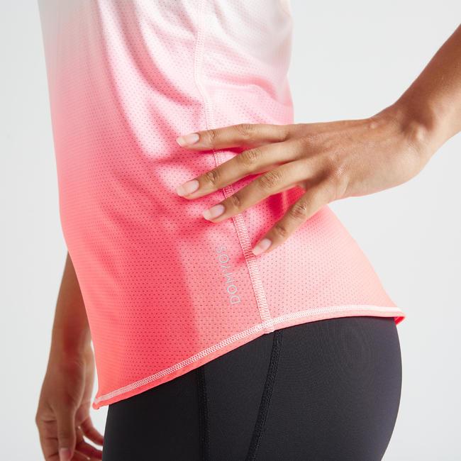 Women's Light Weight Fitness Tank Top - Pink