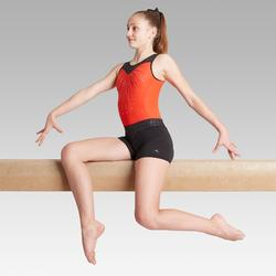 Short noir 500 gymnastique artistique féminine