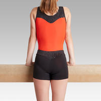 500 Women's Artistic Gymnastics Shorts – Black