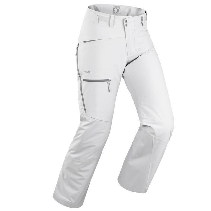 Skibroek voor heren Freeride FR500 grijs
