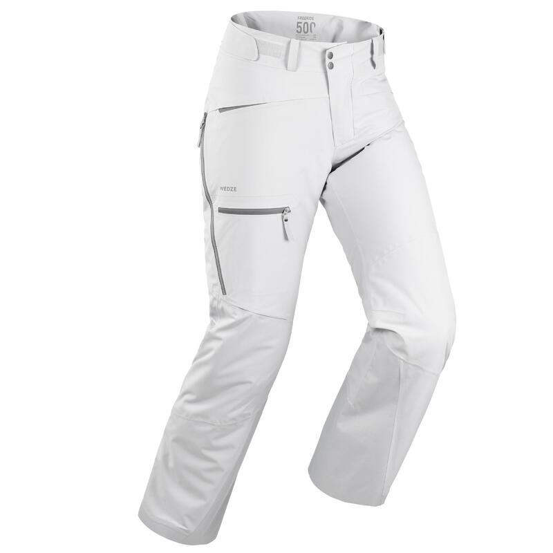 Calças de ski Freeride FR500 Homem Cinza