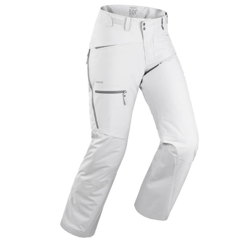 PÁNSKÉ LYŽAŘSKÉ OBLEČENÍ NA FREERIDE Snowboarding - LYŽAŘSKÉ KALHOTY FR500  WEDZE - Snowboardové oblečení a doplňky