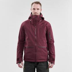 Abrigo Chaqueta esquí y nieve wed'ze FR900 burdeos