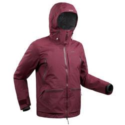 Ski-jas voor heren winter rood FR 900