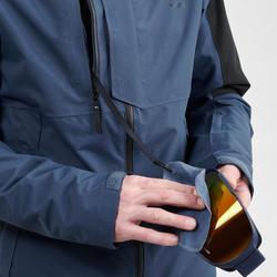 Ski-jas voor heren Freeride FR100 blauw