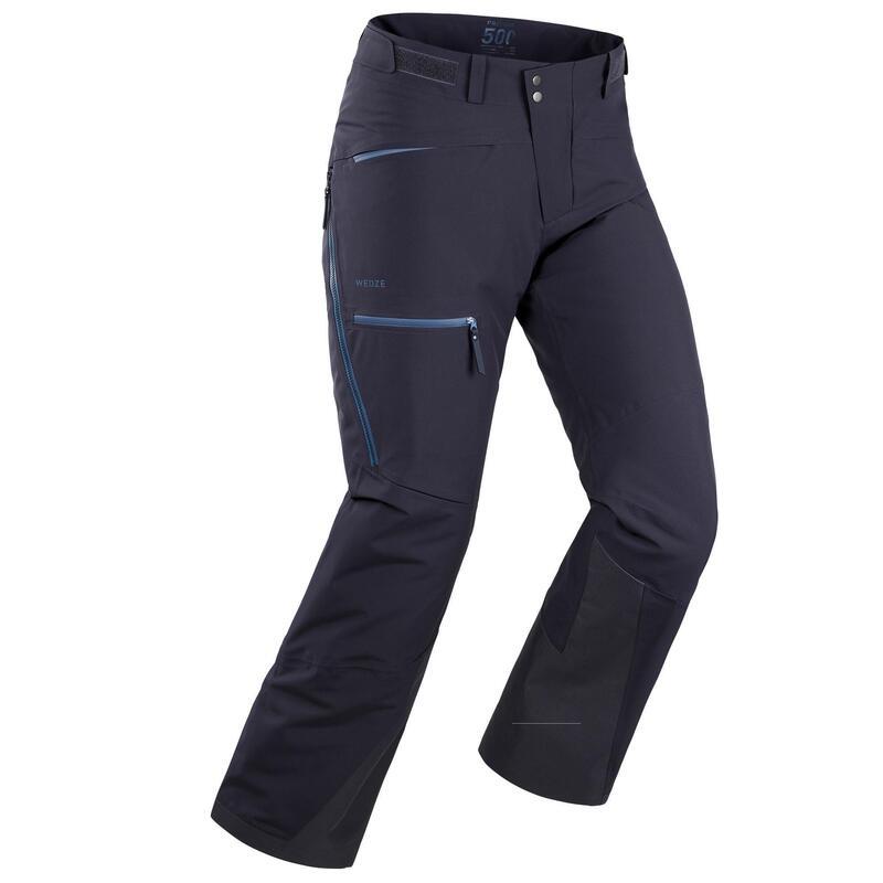 Calças de ski Freeride FR500 Homem Marinho
