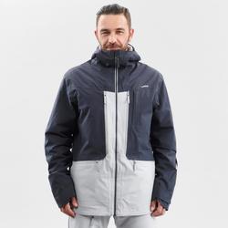 abrigo Chaqueta esquí y nieve wed'ze FR500 Hombre Gris