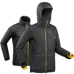 3 in 1 Ski-jas voor heren grijs Freeride SFR 900