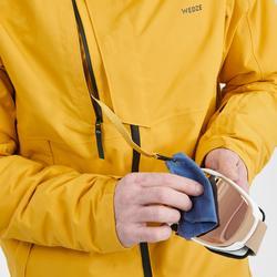 Ski-jas voor heren Freeride FR100 oker