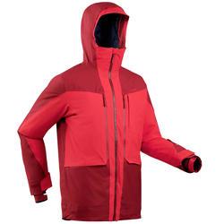 Ski-jas voor freeride heren FR500 H bordeaux