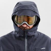 Men's Freeride SKI JACKET FR500 - Grey