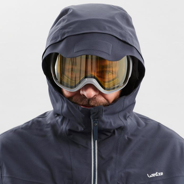 Veste de ski Freeride homme JKT SKI FR500 H Grise