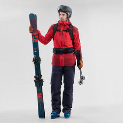 Manteau de ski tout-terrain homme JKT SKI FR500 H Bordeaux