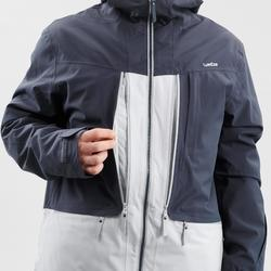 Men's Freeride SKI JACKET FR500 - Grey