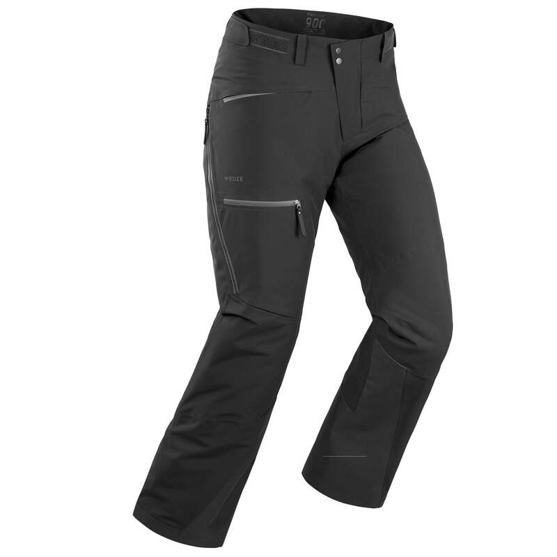 MEN'S FREERIDE SKIING CLOTHING - SKIDBYXA FR 500 HERR SVART WEDZE