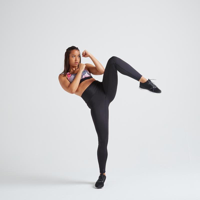 Fitness Shaping High-Waist Leggings - Black