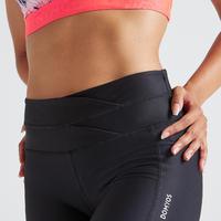 520 Women's Fitness Cardio Training Leggings - Black