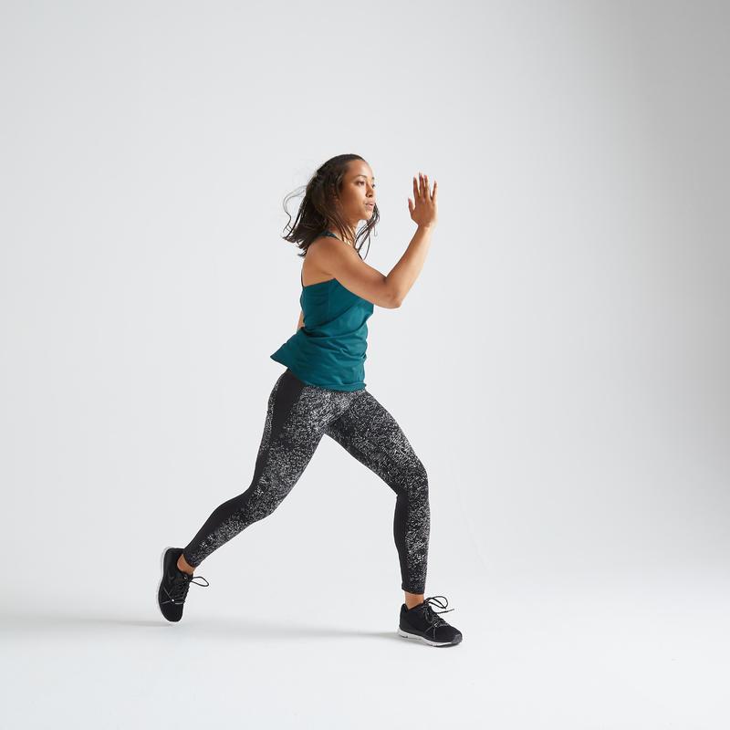 Fitness Shaping High-Waist Leggings - Print