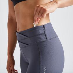 Legging voor cardiofitness dames 500 print
