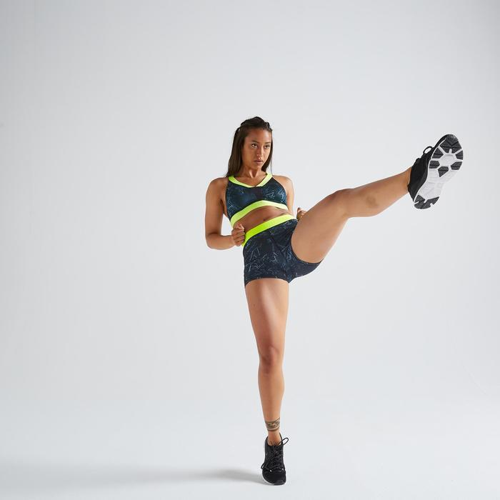 Short fitness cardio training femme imprimé 500