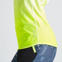500 Women's Fitness Cardio Training Tank Top - Yellow