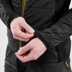 Gewatteerde ondervest voor freeride skiën heren FR 900 grijs