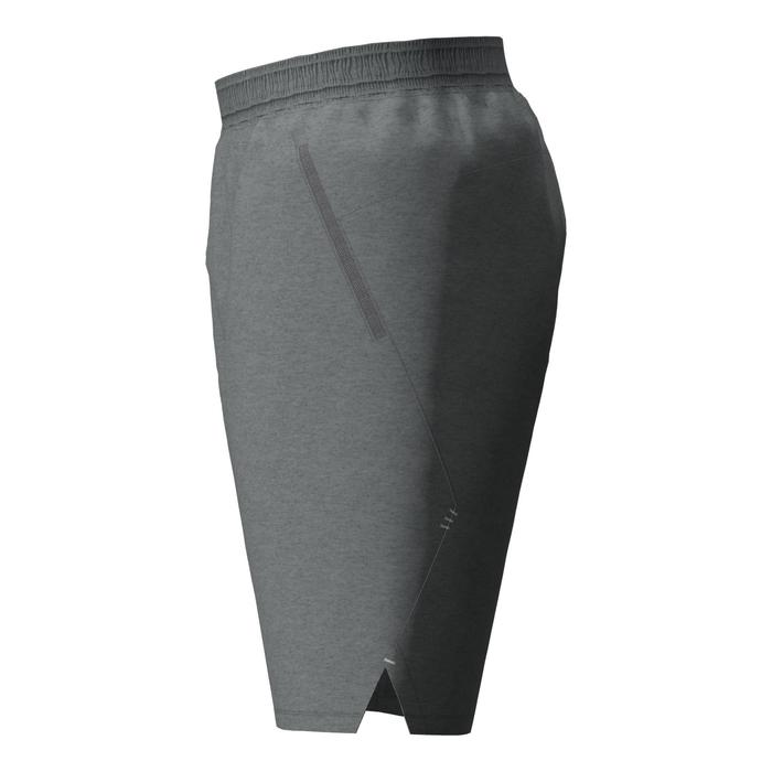 Fitness Cardio Training Shorts 520 Outdoor - Heathered Grey
