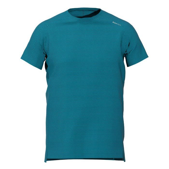 T-Shirt Fitness FTS520 Herren blau F18A