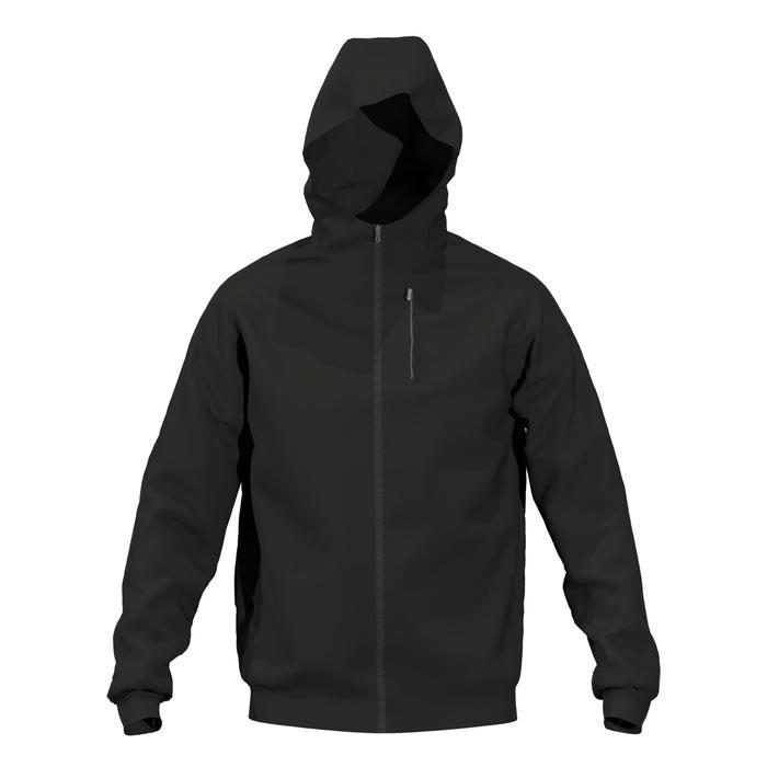 男款戶外健身外套520-黑色