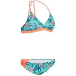 Bikini Completo Surf Olaian Betty Flow Niña Azul