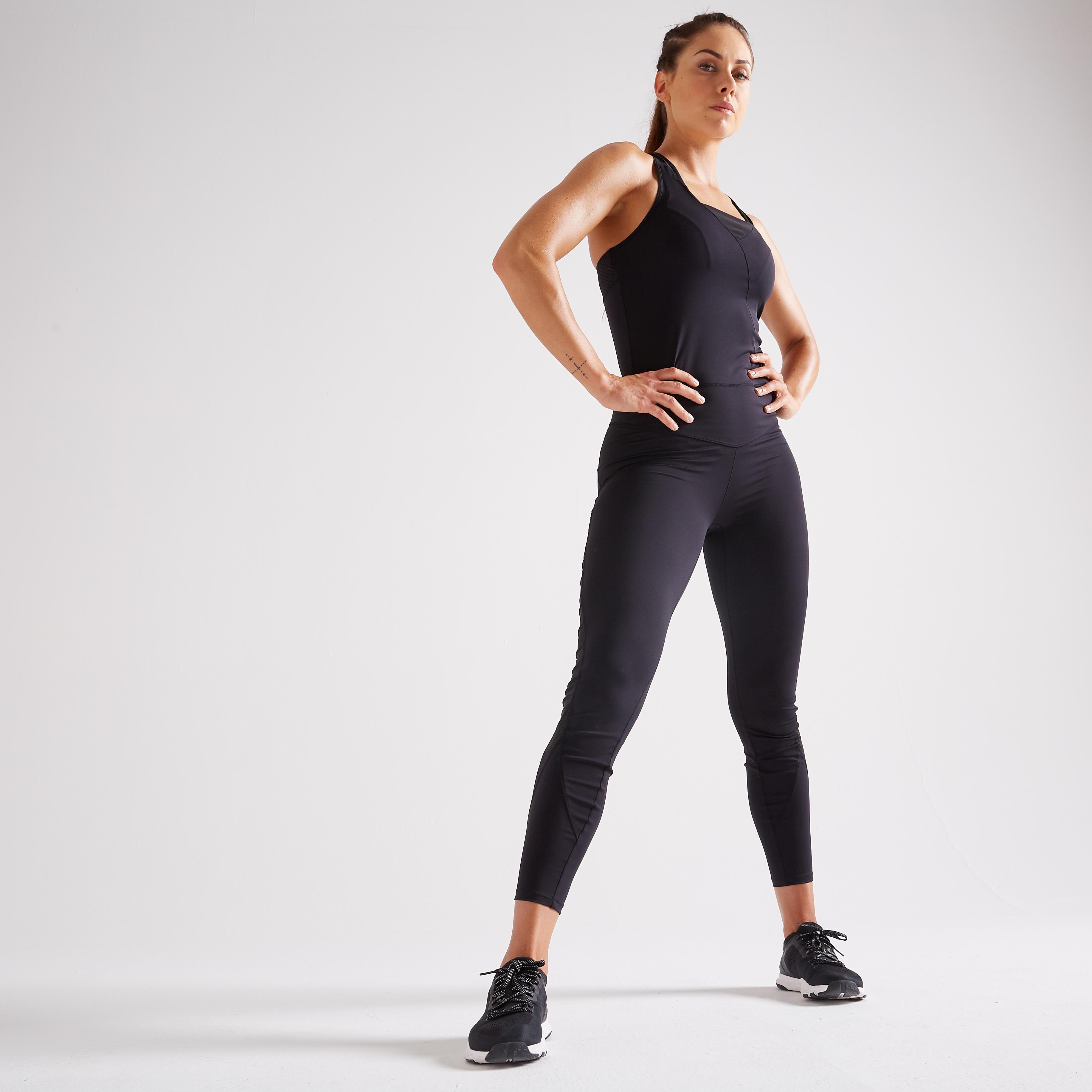 b2e82f186bfc Mono fitness cardio-training mujer negro 900
