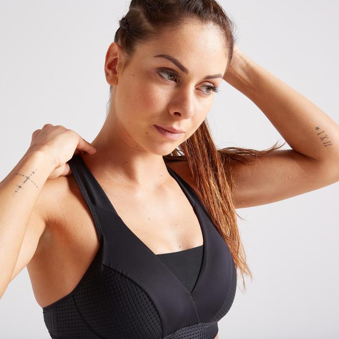Sport-BH BP FBRA 900 große Körbchen Fitness Cardio Damen schwarz