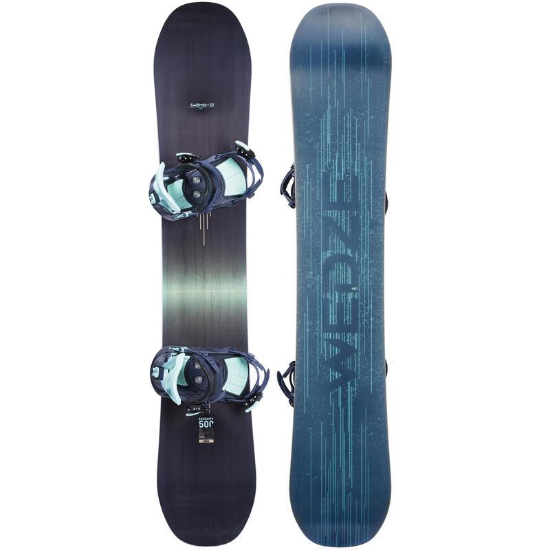 Snowboard Seti SERENITY 500 - Kadın - Lacivert