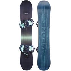 女款單/雙板滑雪板自由式套組Serenity 500,深藍色
