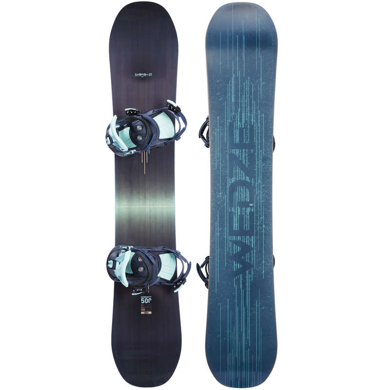 EQUIPEMENT SNOWBOARD FEMME CONFIRME Vintersport - Pack Serenity 500 WEDZE - Snowboardutrustning